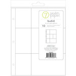 Studio Calico - Seven Paper - Handbook Collection - Page Protectors - 9 x 12 - 3 x 4 and 4 x 6 Pockets