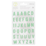 Studio Calico - Seven Paper - Elliot Collection - Puffy Stickers - Alphabet