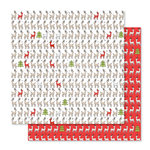 Studio Calico - Seven Paper - Felix Collection - Christmas - 12 x 12 Double Sided Paper - Paper 06