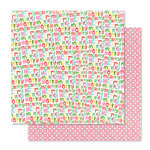 Studio Calico - Seven Paper - Felix Collection - Christmas - 12 x 12 Double Sided Paper - Paper 08
