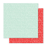 Studio Calico - Seven Paper - Felix Collection - Christmas - 12 x 12 Double Sided Paper - Paper 11