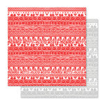 Studio Calico - Seven Paper - Felix Collection - Christmas - 12 x 12 Double Sided Paper - Paper 12