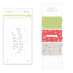Studio Calico - Seven Paper - Felix Collection - Christmas - Handbook Dividers - 4 x 6 - Transparent