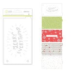 Studio Calico - Seven Paper - Felix Collection - Christmas - Handbook Dividers - 4 x 6 - Transparent