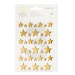 Studio Calico - Seven Paper - Felix Collection - Foiled Chipboard Stickers