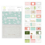 Studio Calico - Seven Paper - Felix Collection - Christmas - 4 x 6 Journal Cards