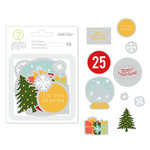 Studio Calico - Seven Paper - Felix Collection - Christmas - Die Cut Acetate Shapes