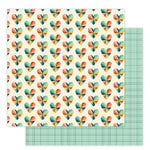 Studio Calico - Seven Paper - Elliot Collection - 12 x 12 Double Sided Paper - Paper 008