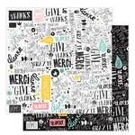 Studio Calico - Seven Paper - Elliot Collection - 12 x 12 Double Sided Paper - Paper 012