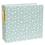 Studio Calico - Seven Paper - Handbook Collection - Elliot - 4 x 4 D-Ring Album - Chipboard - Seafoam