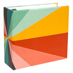 Studio Calico - Seven Paper - Handbook Collection - Elliot - 4 x 4 D-Ring Album - Chipboard - Rainbow