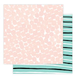 Studio Calico - Seven Paper - Goldie Collection - 12 x 12 Double Sided Paper - Paper 03