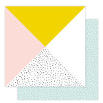 Studio Calico - Seven Paper - Goldie Collection - 12 x 12 Double Sided Paper - Paper 08