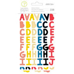 Studio Calico - Seven Paper - Goldie Collection - Cardstock Stickers - Multicolored Alphabet
