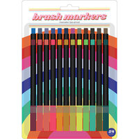 American Crafts - Brush Markers - Fine - Retro Brite