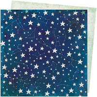 American Crafts - Storyteller Collection - 12 x 12 Double Sided Paper - Stardust