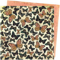 Vicki Boutin - Storyteller Collection - 12 x 12 Double Sided Paper - Mariposa