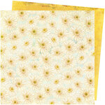 Vicki Boutin - Storyteller Collection - 12 x 12 Double Sided Paper - Daisies