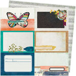Vicki Boutin - Storyteller Collection - 12 x 12 Double Sided Paper - Rendering