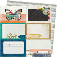 American Crafts - Storyteller Collection - 12 x 12 Double Sided Paper - Rendering