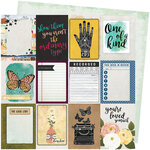 Vicki Boutin - Storyteller Collection - 12 x 12 Double Sided Paper - Storyteller