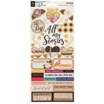 Vicki Boutin - Storyteller Collection - 6 x 12 Stickers with Foil Accents