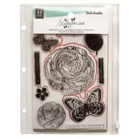 American Crafts - Storyteller Collection - Stamp and Die Set - Wonderful