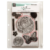 Vicki Boutin - Storyteller Collection - Stamp and Die Set - Wonderful