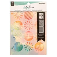 American Crafts - Storyteller Collection - Stencils - Radiate