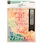 American Crafts - Storyteller Collection - Stencils - Wild Soul