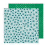 Amy Tangerine - Brave and Bold Collection - 12 x 12 Double Sided Paper - Starburst