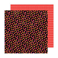 Amy Tangerine - Brave and Bold Collection - 12 x 12 Double Sided Paper - Scattered Spots