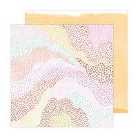 Amy Tangerine - Brave and Bold Collection - 12 x 12 Double Sided Paper - Pieced Together