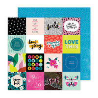 Amy Tangerine - Brave and Bold Collection - 12 x 12 Double Sided Paper - True Story