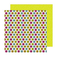 Amy Tangerine - Brave and Bold Collection - 12 x 12 Double Sided Paper - Good Vibes
