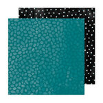 Amy Tangerine - Brave and Bold Collection - 12 x 12 Double Sided Paper - Canvas
