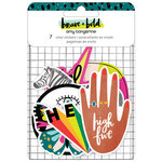 Amy Tangerine - Brave and Bold Collection - Stickers -Vinyl