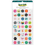 Amy Tangerine - Brave and Bold Collection - Mini Puffy Stickers