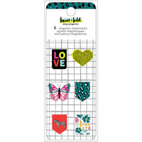 Amy Tangerine - Brave and Bold Collection - Magnetic Book Marks