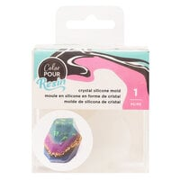 American Crafts - Color Pour Resin Collection - Mold - Large Crystal