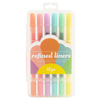 American Crafts - Refined Highlighters - Doubled Ended