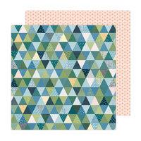 Paige Evans - Bungalow Lane Collection - 12 x 12 Double Sided Paper - Paper 3