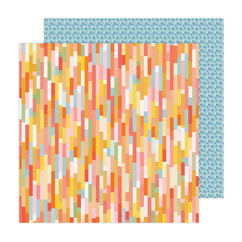 Paige Evans - Bungalow Lane Collection - 12 x 12 Double Sided Paper - Paper 4