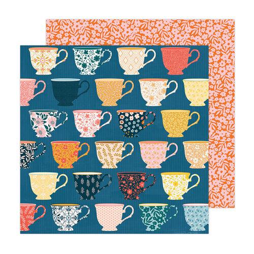 Paige Evans - Bungalow Lane Collection - 12 x 12 Double Sided Paper - Paper 6