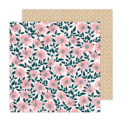 Paige Evans - Bungalow Lane Collection - 12 x 12 Double Sided Paper - Paper 7
