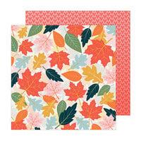 Paige Evans - Bungalow Lane Collection - 12 x 12 Double Sided Paper - Paper 9