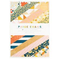 Paige Evans - Bungalow Lane Collection - 6 x 8 Paper Pad with Gold Foil Accents
