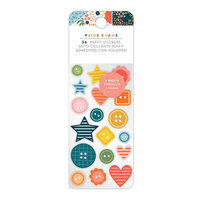 Paige Evans - Bungalow Lane Collection - Embossed Puffy Stickers