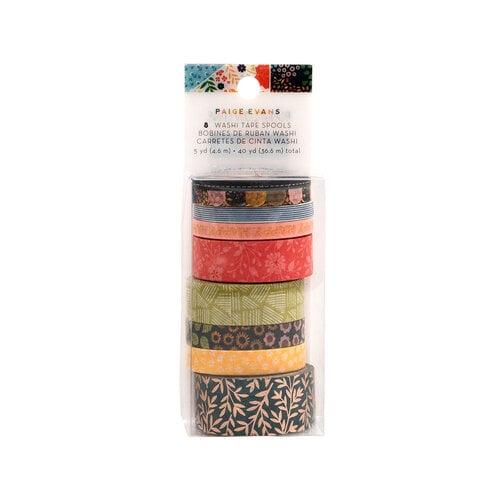 Paige Evans - Bungalow Lane Collection - Washi Tape with Copper Foil Accents