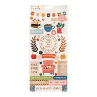 Paige Evans - Bungalow Lane Collection - 6 x 12 Cardstock Stickers with Copper Foil Accents